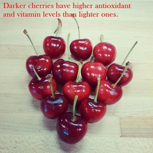 Bing Cherry heart FB