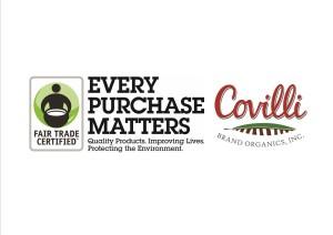 Covilli Fair Trade Banner with only logos smaller