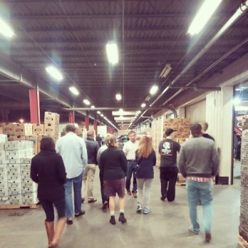 James Beard Culinary Lab tour of the SF Produce Market with Michael Janis, Manager of the SFPM