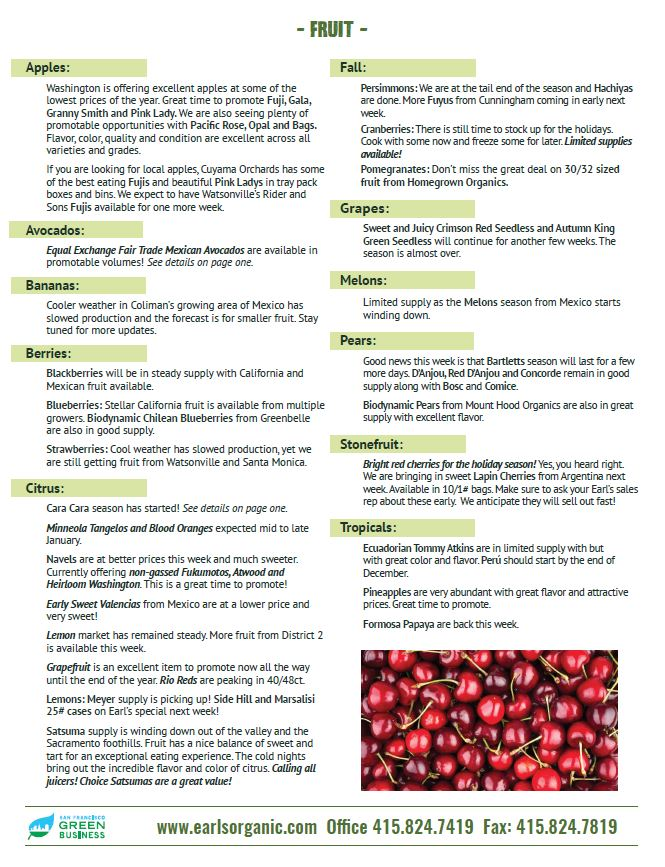 Buyer's Notes December 4 Page 2