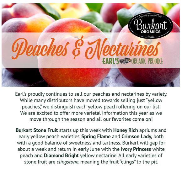 May « 2018 « Earl's Organic Produce