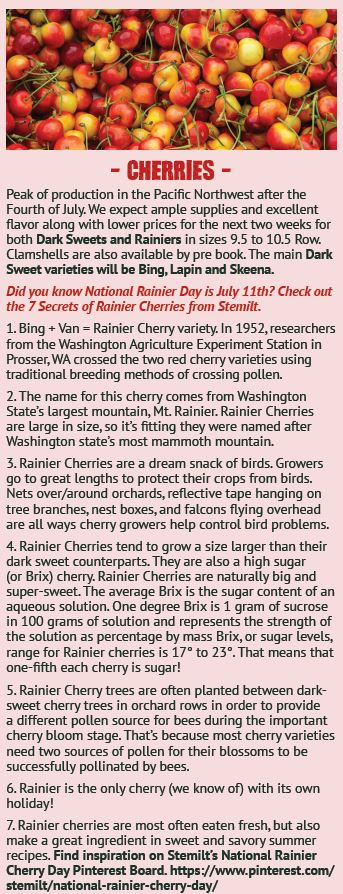 Rainier Cherry 7 Secrets